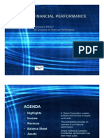 Financial Performance Report Template (PowerPoint)