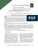 Produccion de Proteinas Recombinantes en E- Coli