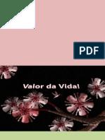 Valor Da Vida - Augusto Cury