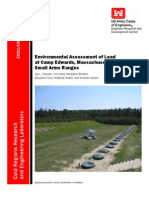 Environmental Assessment Lead Small Arms Ranges