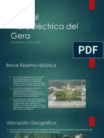 Central Hidroeléctrica del Gera