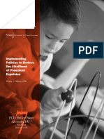 Implementing Policies to Reduce Preschool Expulsion