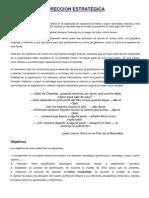 DIRECCION ESTRATÉGICA-CC