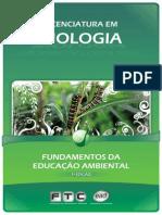 licenciatura em biologia - fundamentos da educação ambiental