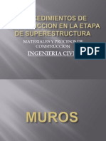 Construcción en etapa de superestructura