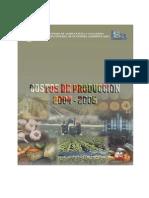 Costos Agricolas Dgea