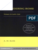 A. M. Keith-Engendering Rome Women in Latin Epic