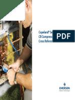 Compresores Copeland CR Referencia Cruzada