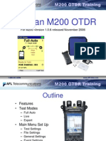 Afl - m200 Using an m200 Otdr2