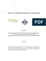 Survey of Munitions Response Technologies