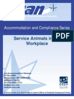 Service Animals in the Workplace