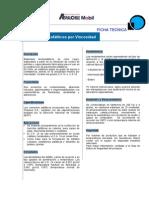 Especificaciones cemento asfáltico