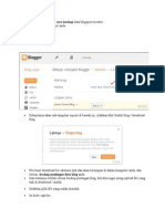 Backup Blogger