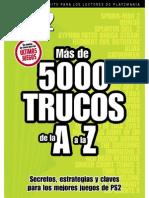 Playmania a-Z Trucos