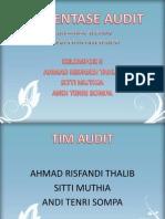 Presentase Audit