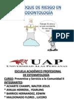 Efonque de Riesgo de Odontologia JP