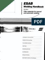 pdf Engineering) Esab Welding Handbook - 5 Edition