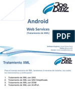 Android - Web Services - XML