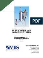 Ultra Doser 1020 User Manual