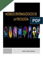 Modelos epistemológicos de la psicología [Modo de compatibilidad]