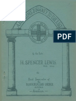 A Pilgrim's Journey to the East by H. Spencer Lewis.
