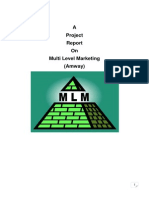 Final Report of MLM for Scribd