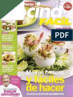 Cocina Fácil [Nº 174 Menús Frescos y Fáciles de hacer]