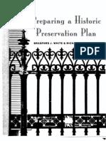 Preparing a Historic Preservation Plan - Compressed