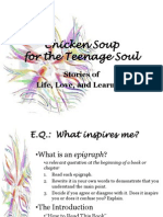 Chicken Soup-Life Love and Learning Inspirations