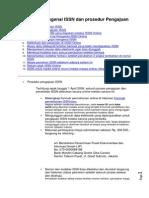 Informasi Mengenai ISSN Dan Prosedur Pengajuan