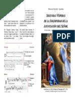 2ª Visperas Anunciación2014