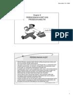 Auditing Ch 8 Perencanaan Audit Prosedur Analitik