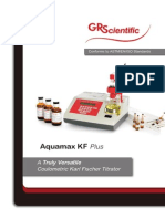 Titulador Automatico Gr Scientific Aquamax Kf Plus