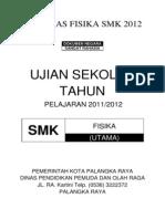 Soal Uas Fisika Smk 2011