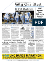 The Daily Tar Heel for March 21, 2014
