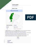 Región Litoral de Ecuador