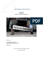 Statistical Report Lehman Brothers Group 8 học sinh làm