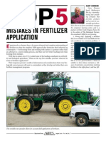 Top 5 Mistakes in Fertilizer Application PDF