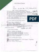 Property cases/outline atty. Mendoza