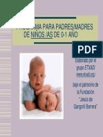 Padres - actividades de estimulación