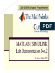 APC 2009 MATLAB Demo 1 Slides