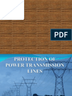 Protection of Power Transmission Lines