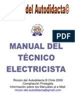 MANUAL de Electricidad Instalador Electricista 1