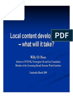 Local Content Undpconf Present080327 Olsen1