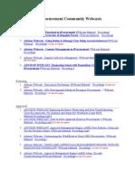 The Procurement Community Webcasts