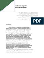 Southwell, Myriam - La educación secundaria en Argentina....pdf