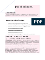 12 Types of Inflation