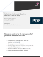 Local Content-reflections on the Norwegian Experience