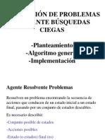 AgenteResolvente - Busqueda Ciega
