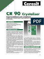 Hidroizolatii Fundatii Ceresit CR 90